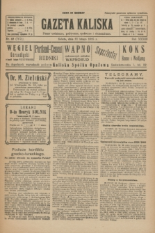 Gazeta Kaliska : pismo codzienne, polityczne, społeczne i ekonomiczne. R.33, nr 42 (21 lutego 1925) = nr 7971
