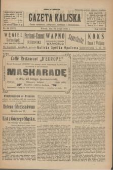 Gazeta Kaliska : pismo codzienne, polityczne, społeczne i ekonomiczne. R.33, nr 44 (24 lutego 1925) = nr 7973