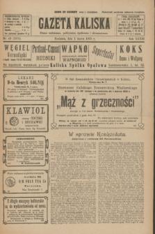 Gazeta Kaliska : pismo codzienne, polityczne, społeczne i ekonomiczne. R.33, nr 49 (1 marca 1925) = nr 7978