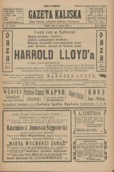 Gazeta Kaliska : pismo codzienne, polityczne, społeczne i ekonomiczne. R.33, nr 53 (6 marca 1925) = nr 7982