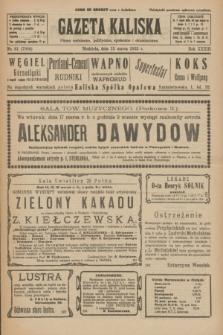 Gazeta Kaliska : pismo codzienne, polityczne, społeczne i ekonomiczne. R.33, nr 61 (15 marca 1925) = nr 7990