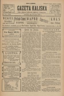 Gazeta Kaliska : pismo codzienne, polityczne, społeczne i ekonomiczne. R.33, nr 64/65 (19 marca 1925) = nr 7993