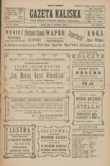 Gazeta Kaliska : pismo codzienne, polityczne, społeczne i ekonomiczne. R.33, nr 81 (8 kwietnia 1925) = nr 8009