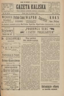 Gazeta Kaliska : pismo codzienne, polityczne, społeczne i ekonomiczne. R.33, nr 86 (15 kwietnia 1925) = nr 8014
