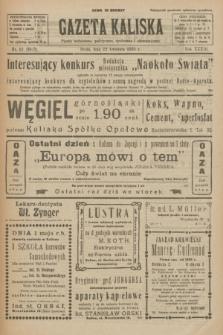 Gazeta Kaliska : pismo codzienne, polityczne, społeczne i ekonomiczne. R.33, nr 92 (22 kwietnia 1925) = nr 8020