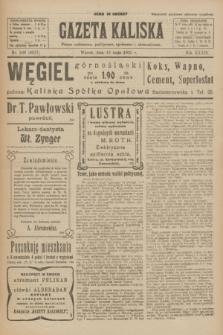 Gazeta Kaliska : pismo codzienne, polityczne, społeczne i ekonomiczne. R.33, nr 109 (12 maja 1925) = nr 8037