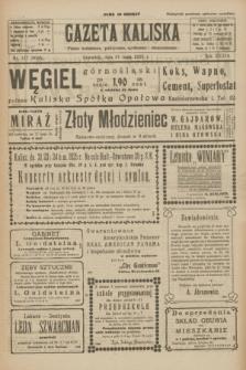 Gazeta Kaliska : pismo codzienne, polityczne, społeczne i ekonomiczne. R.33, nr 117 (21 maja 1925) = nr 8045