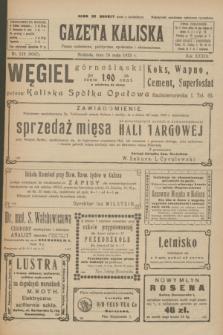 Gazeta Kaliska : pismo codzienne, polityczne, społeczne i ekonomiczne. R.33, nr 119 (24 maja 1925) = nr 8047