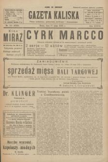 Gazeta Kaliska : pismo codzienne, polityczne, społeczne i ekonomiczne. R.33, nr 121 (27 maja 1925) = nr 8049