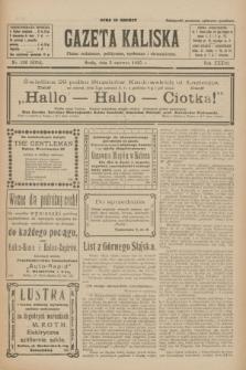 Gazeta Kaliska : pismo codzienne, polityczne, społeczne i ekonomiczne. R.33, nr 126 (3 czerwca 1925) = nr 8054