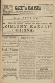 Gazeta Kaliska : pismo codzienne, polityczne, społeczne i ekonomiczne. R.33, nr 132 (10 czerwca 1925) = nr 8060
