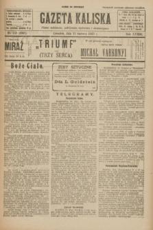 Gazeta Kaliska : pismo codzienne, polityczne, społeczne i ekonomiczne. R.33, nr 133 (11 czerwca 1925) = nr 8061