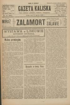 Gazeta Kaliska : pismo codzienne, polityczne, społeczne i ekonomiczne. R.33, nr 137 (17 czerwca 1925) = nr 8065