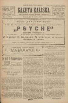 Gazeta Kaliska : pismo codzienne, polityczne, społeczne i ekonomiczne. R.33, nr 141 (21 czerwca 1925) = nr 8069