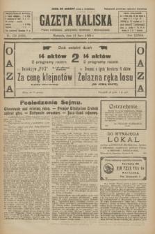 Gazeta Kaliska : pismo codzienne, polityczne, społeczne i ekonomiczne. R.33, nr 158 (12 lipca 1925) = nr 8086