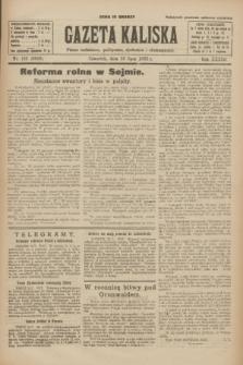 Gazeta Kaliska : pismo codzienne, polityczne, społeczne i ekonomiczne. R.33, nr 161 (16 lipca 1925) = nr 8089