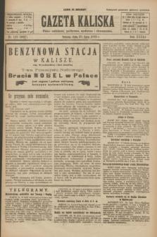 Gazeta Kaliska : pismo codzienne, polityczne, społeczne i ekonomiczne. R.33, nr 169 (25 lipca 1925) = nr 8097