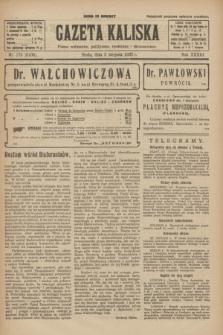 Gazeta Kaliska : pismo codzienne, polityczne, społeczne i ekonomiczne. R.33, nr 178 (5 sierpnia 1925) = nr 8106