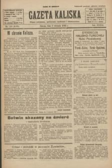 Gazeta Kaliska : pismo codzienne, polityczne, społeczne i ekonomiczne. R.33, nr 181 (8 sierpnia 1925) = nr 8109