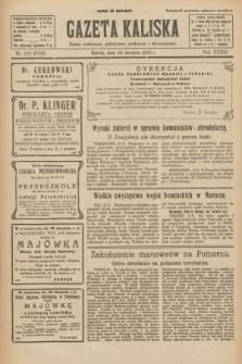 Gazeta Kaliska : pismo codzienne, polityczne, społeczne i ekonomiczne. R.33, nr 193 (22 sierpnia 1925) = nr 8120