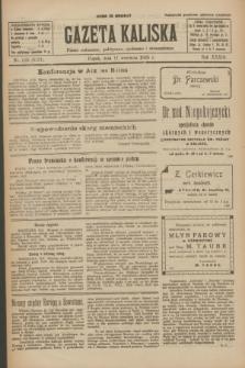 Gazeta Kaliska : pismo codzienne, polityczne, społeczne i ekonomiczne. R.33, nr 210 (11 września 1925) = nr 8137