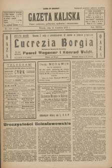 Gazeta Kaliska : pismo codzienne, polityczne, społeczne i ekonomiczne. R.33, nr 213 (15 września 1925) = nr 8140