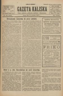Gazeta Kaliska : pismo codzienne, polityczne, społeczne i ekonomiczne. R.33, nr 226 (30 września 1925) = nr 8153