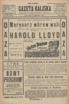 Gazeta Kaliska : pismo codzienne, polityczne, społeczne i ekonomiczne. R.33, nr 229 (3 października 1925) = nr 8156