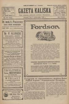 Gazeta Kaliska : pismo codzienne, polityczne, społeczne i ekonomiczne. R.33, nr 230 (4 października 1925) = nr 8157