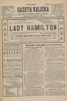 Gazeta Kaliska : pismo codzienne, polityczne, społeczne i ekonomiczne. R.33, nr 235 (10 października 1925) = nr 8162