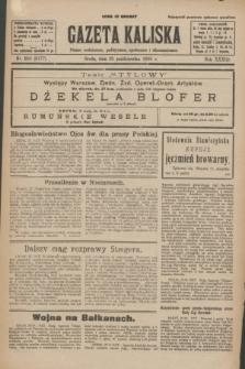 Gazeta Kaliska : pismo codzienne, polityczne, społeczne i ekonomiczne. R.33, nr 250 (28 października 1925) = nr 8177