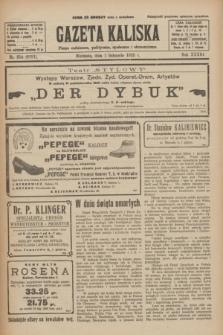 Gazeta Kaliska : pismo codzienne, polityczne, społeczne i ekonomiczne. R.33, nr 254 (1 listopada 1925) = nr 8181