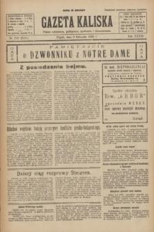 Gazeta Kaliska : pismo codzienne, polityczne, społeczne i ekonomiczne. R.33, nr 258 (6 listopada 1925) = nr 8185