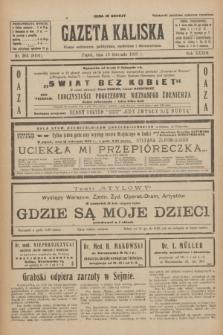 Gazeta Kaliska : pismo codzienne, polityczne, społeczne i ekonomiczne. R.33, nr 264 (13 listopada 1925) = nr 8191