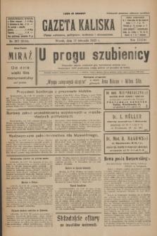 Gazeta Kaliska : pismo codzienne, polityczne, społeczne i ekonomiczne. R.33, nr 267 (17 listopada 1925) = nr 8194