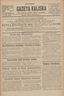 Gazeta Kaliska : pismo codzienne, polityczne, społeczne i ekonomiczne. R.33, nr 269 (19 listopada 1925) = nr 8195