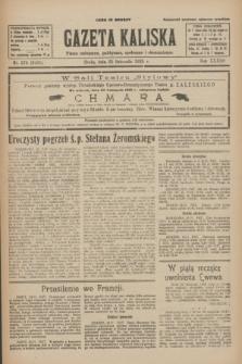 Gazeta Kaliska : pismo codzienne, polityczne, społeczne i ekonomiczne. R.33, nr 274 (25 listopada 1925) = nr 8201