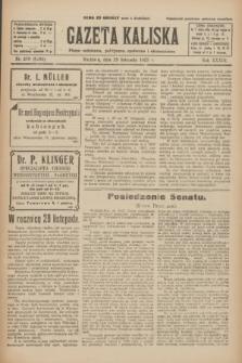Gazeta Kaliska : pismo codzienne, polityczne, społeczne i ekonomiczne. R.33, nr 278 (29 listopada 1925) = nr 8205
