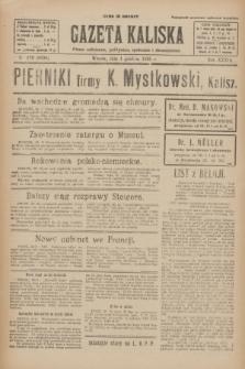 Gazeta Kaliska : pismo codzienne, polityczne, społeczne i ekonomiczne. R.33, nr 279 (1 grudnia 1925) = nr 8206