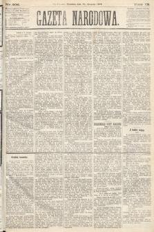 Gazeta Narodowa. 1870, nr206