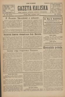 Gazeta Kaliska : pismo codzienne, polityczne, społeczne i ekonomiczne. R.33, nr 283 (5 grudnia 1925) = nr 8210
