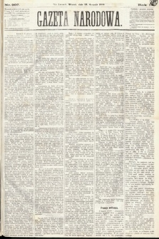 Gazeta Narodowa. 1870, nr207