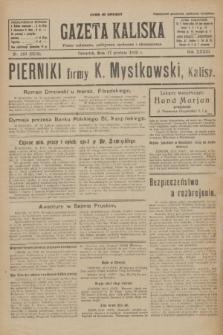 Gazeta Kaliska : pismo codzienne, polityczne, społeczne i ekonomiczne. R.33, nr 292 (17 grudnia 1925) = nr 8219