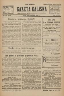 Gazeta Kaliska : pismo codzienne, polityczne, społeczne i ekonomiczne. R.33, nr 297 (23 grudnia 1925) = nr 8224