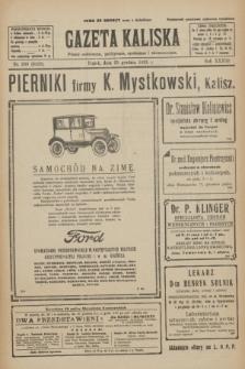 Gazeta Kaliska : pismo codzienne, polityczne, społeczne i ekonomiczne. R.33, nr 299 (25 grudnia 1925) = nr 8226