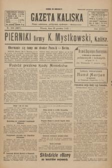 Gazeta Kaliska : pismo codzienne, polityczne, społeczne i ekonomiczne. R.33, nr 300 (29 grudnia 1925) = nr 8227