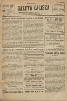 Gazeta Kaliska : pismo codzienne, polityczne, społeczne i ekonomiczne. R.34, nr 3 (5 stycznia 1926) = nr 8232