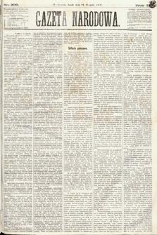 Gazeta Narodowa. 1870, nr208