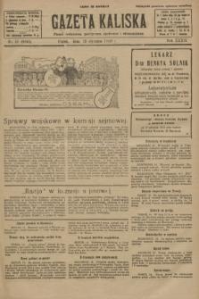 Gazeta Kaliska : pismo codzienne, polityczne, społeczne i ekonomiczne. R.34, nr 11 (15 stycznia 1926) = nr 8240