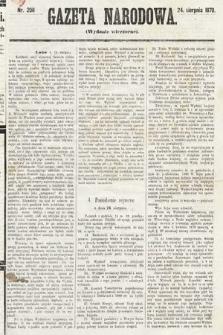 Gazeta Narodowa (wydanie wieczorne). 1870, nr208